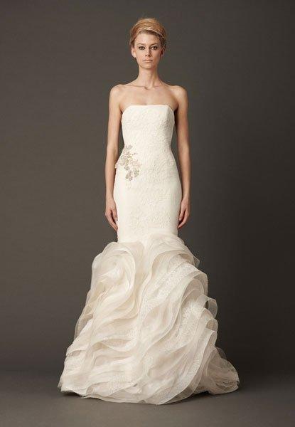 Hochzeitskleider Vera Wang Herbst 2013: Exklusive Brautmode