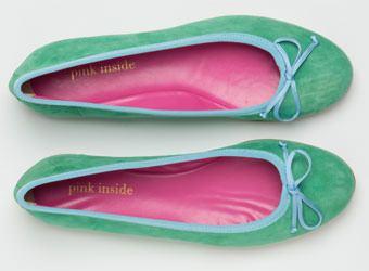 Für prima Ballerinas: Die neuen Ballerinas von Pink Inside