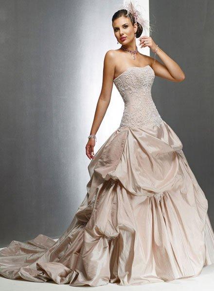 Bild 9 cremefarbene hochzeitskleider duchesse kleid