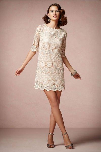 Vintage Hochzeitskleid Alte Spitze