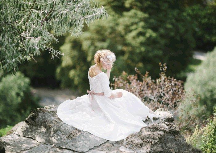 Vintage Hochzeitskleid: Nostalgie pur