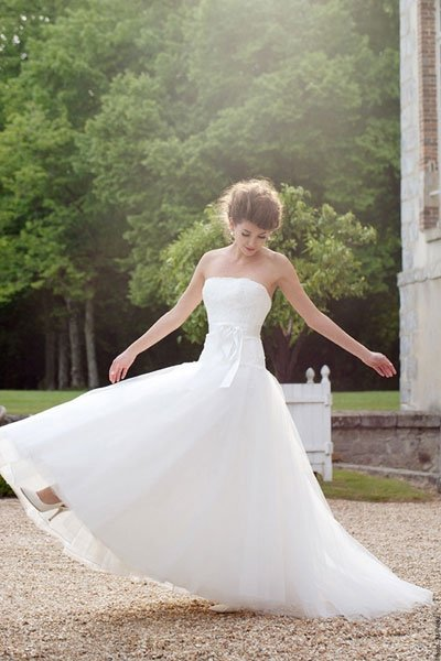 Brautkleider in A-Linie: Be the bride - be the princess!