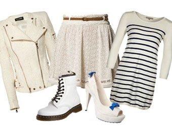 Trendfarben: Diesen Sommer tragen wir Weiss
