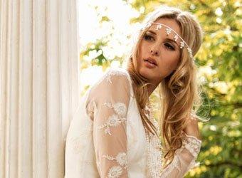 Hochzeitskleider aus Spitze: Sinnliche Romantik