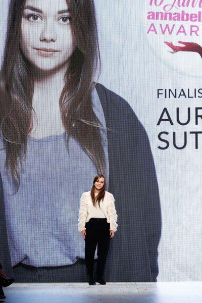 Mercedes-Benz Fashion Days Zurich: Aurélie Sutter