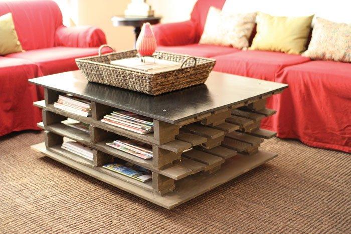 m bel aus holzpaletten ausgefallener couchtisch. Black Bedroom Furniture Sets. Home Design Ideas