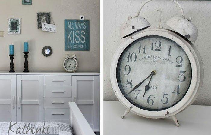 Dekoideen für Schlafzimmer: Vintage Details