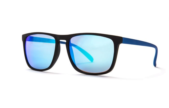 xray sonnenbrillen eckige sonnenbrille mit verspiegelten. Black Bedroom Furniture Sets. Home Design Ideas