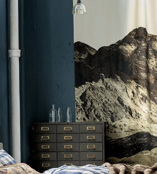 foto vorh nge und motiv gardinen bilder aus stoff. Black Bedroom Furniture Sets. Home Design Ideas
