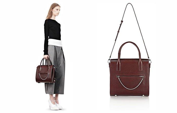 luxus taschen alexander wang chastity satchel. Black Bedroom Furniture Sets. Home Design Ideas