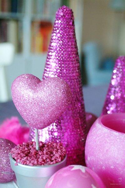 mehr festglanz geht nicht weihnachtsschmuck aus pailletten basteln. Black Bedroom Furniture Sets. Home Design Ideas