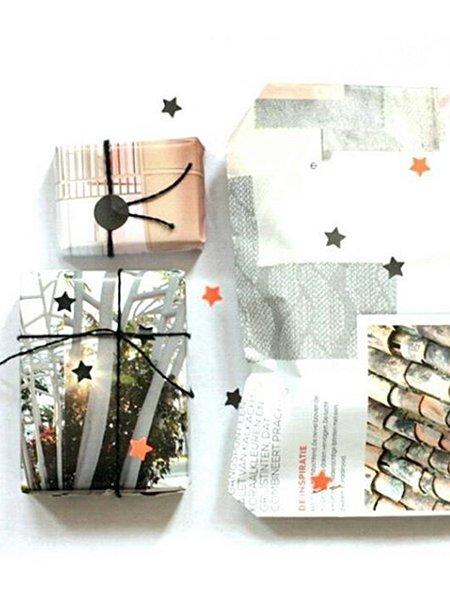 geschenke umweltfreundlich einpacken. Black Bedroom Furniture Sets. Home Design Ideas