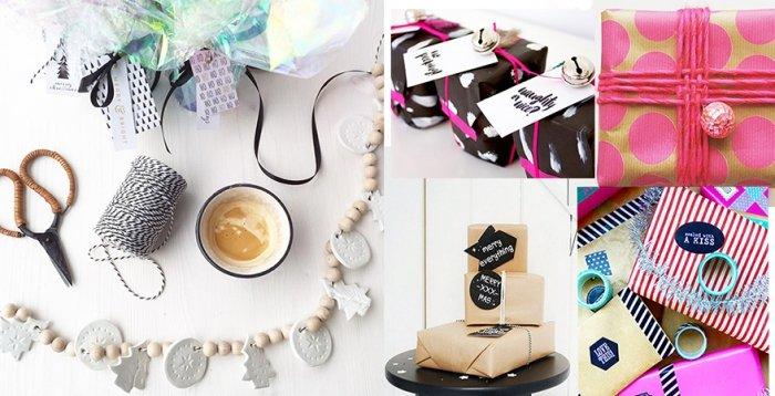 geschenke einpacken 19 ideen f r verpackte freude. Black Bedroom Furniture Sets. Home Design Ideas