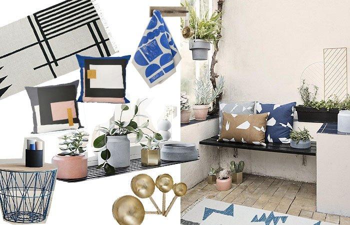 die ferm living fr hling sommerkollektion 2015 liefert uns gr ne einrichtungsideen. Black Bedroom Furniture Sets. Home Design Ideas
