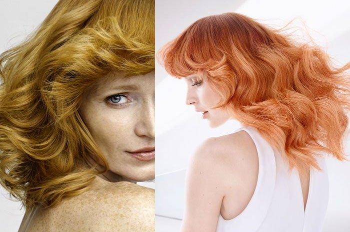 Haarfarben 2015 Ein Blasser Schimmer Rot