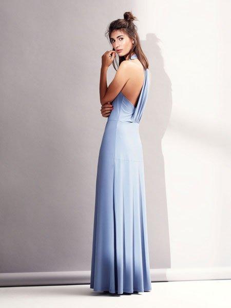 49d36d7d1f67a1 Kleider für Hochzeitsgäste: Kleid mit Rückenausschnitt