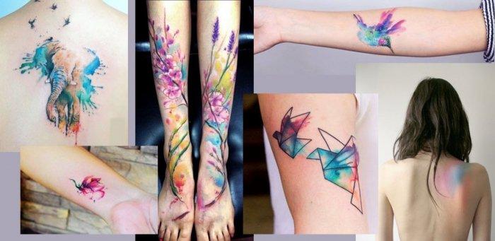 Tattoo Vorlagen Fur Watercolor Tattoos