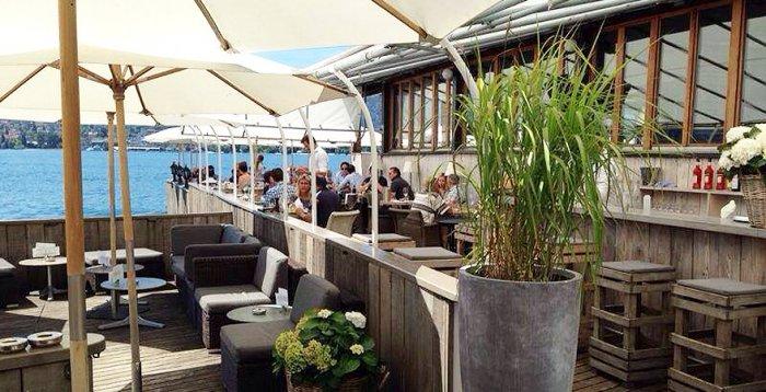 restaurants mit terrasse in z rich romantische sonnenunterg nge in der fischsstube. Black Bedroom Furniture Sets. Home Design Ideas