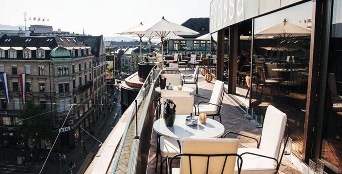Zürich Terrasse Restaurant : Restaurants mit Terrasse in Z u00fcrich u00dcber den D u00e4chern im