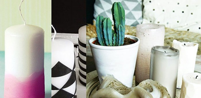 weihnachtsgeschenke selber machen kerzen selber giessen. Black Bedroom Furniture Sets. Home Design Ideas