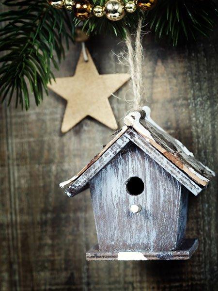 weihnachtsgeschenke basteln vogelhaus selber bauen. Black Bedroom Furniture Sets. Home Design Ideas