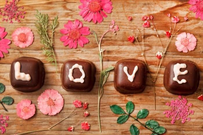 Valentinstag Geschenke Schokoladenkusse