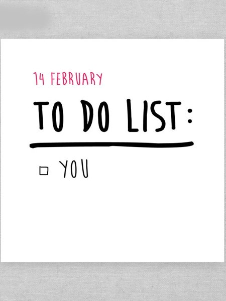 Valentinstag Spruche 14 Februar To Do List