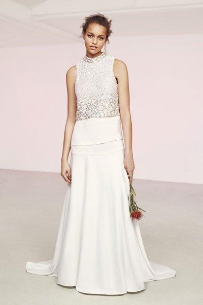 Hochzeitskleider günstig: Zweiteiliges Kleid von Asos