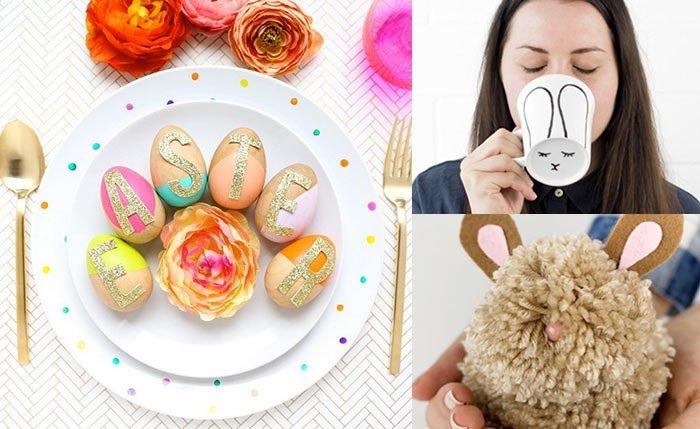 Heiteres Osterbasteln: 10 DIY- Ideen für Deko & Geschenke
