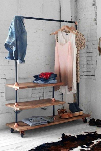 Schlafzimmer-Ideen: Offene Kleiderschränke