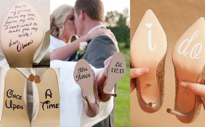 Cinderellas Hochzeitsideen: Schuh-bidudubidu...