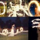 Funkelnde Hochzeitsidee: Light up your hearts!