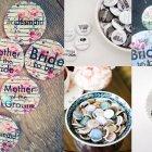 Hochzeitsidee Gäste-Accessoire: Wer bist du?