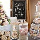 Hochzeitideen die durch den Magen gehen: Kleine Cupcakes werden grossartig