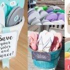 Hochzeitsideen zum Abfeiern: Flip Flops für alle!