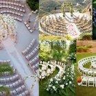 Hochzeitsidee für die Trauung: Romantischer Stuhlkreis