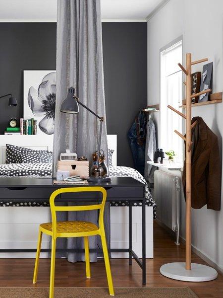 kleine wohnung einrichten gut geteilt. Black Bedroom Furniture Sets. Home Design Ideas