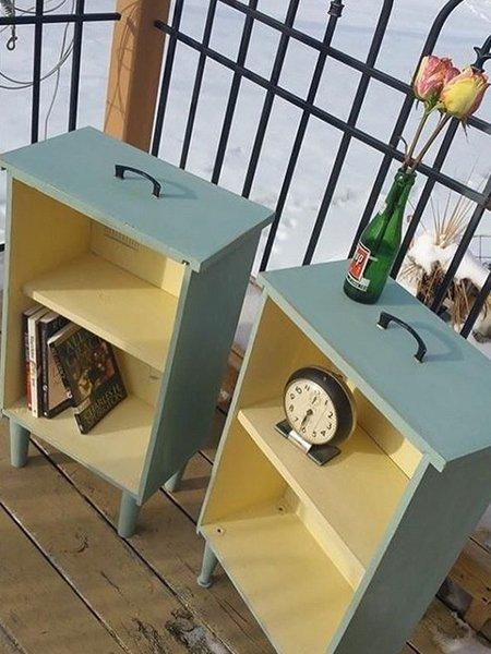 upcycling ideen von der schublade zum regal. Black Bedroom Furniture Sets. Home Design Ideas