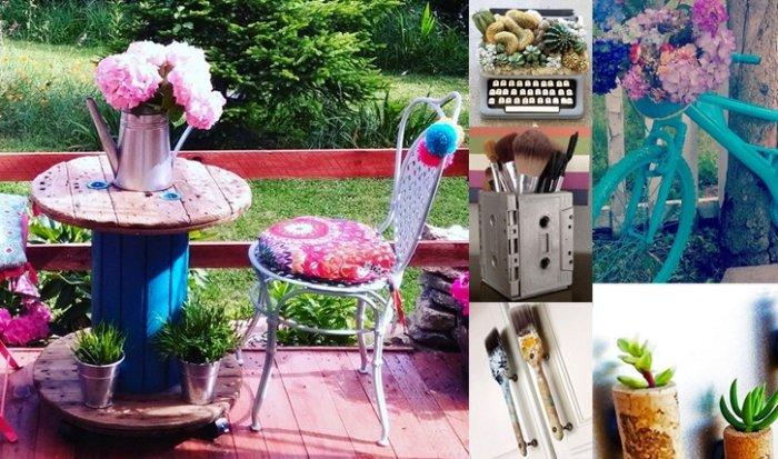 26 inspirierende upcycling ideen. Black Bedroom Furniture Sets. Home Design Ideas