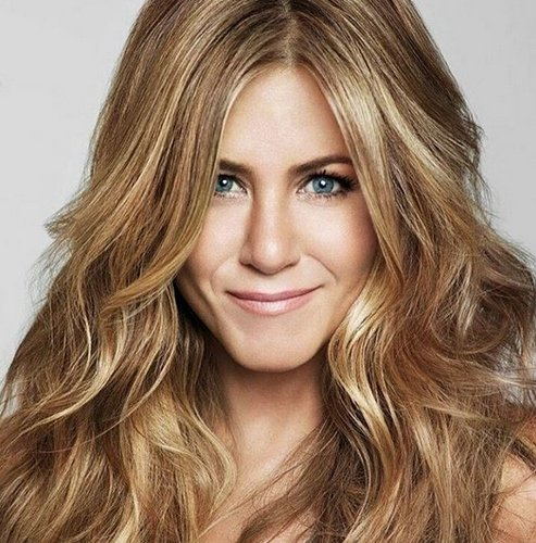 frisur von jennifer aniston sexy hair. Black Bedroom Furniture Sets. Home Design Ideas