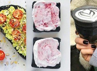 Black Food: Mit Aktivkohle gefärbtes Essen ist der neue Hype auf Instagram