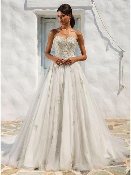 Hochzeitskleider 2018: Glitzer