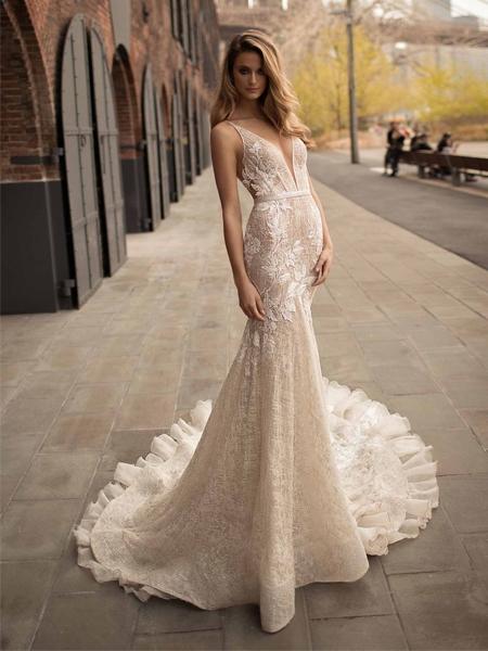 Hochzeitskleider 2018: Spitze