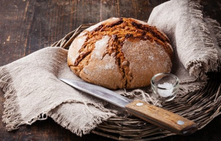 Brot backen: Traditionelles Bauernbrot