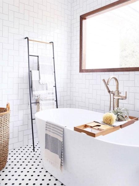 Skandinavische Einrichtung Badezimmer Im Nordischen Look