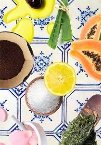 Küchenkosmetik: Unsere Gesichtsmaske rühren wir jetzt selber an!