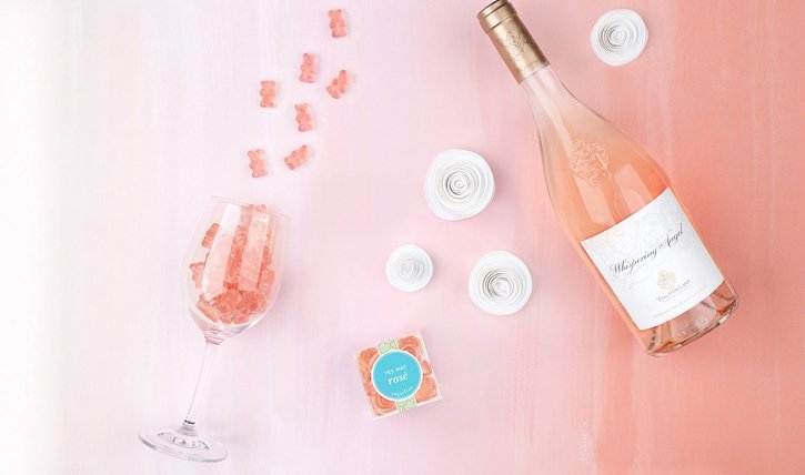 Gummibärchen selber machen: Der Hit für jeden Apéro rosöversetzte Gummibärchen oder Champagner-Bärchen.