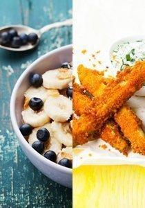 Kalorienarme Snacks: Rezepte für richtig gesunde Snacks