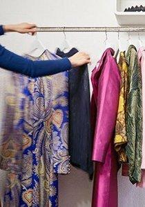 In der Boutique Kleihd können wir Kleider mieten statt kaufen