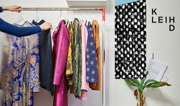 In der Boutique Kleih lassen sichKleider mieten statt kaufen.
